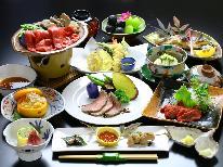 【お肉料理 3種】信州牛&温泉ローストビーフ&馬刺し♪信州の美味しいものを集めた!極上プラン