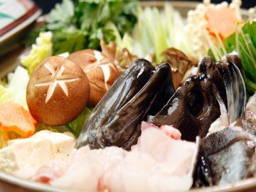 【特製クエ鍋】幻の魚◇濃厚な旨味が凝縮された高級魚クエを饗する 贅沢な冬時間