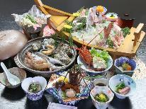 【スタンダード】極上の宴◆伊勢海老×アワビ×鯛活造り×うに飯◆~特典付~