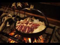 【特選鴨鍋】とろける食感の鴨肉で贅沢な鍋に!+貸切温泉付き