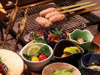 ★*季節の彩り膳*郷土料理を味わいながらメインは会津地鶏の水晶板焼きで…