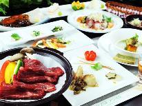 【旬味】黒毛和牛の陶板焼きと会津の郷土料理を創作料理で♪