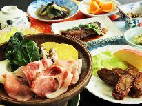 【365日同料金】夕食のメインは『エゴマ豚』2食付で7,800円♪お得に裏磐梯を楽しむ!