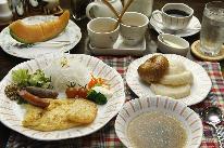 お泊り&自家製ふかふかハイジの白パンの朝食付きプラン