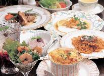 フルコースディナー&ハイジ白パン朝食 2食付プラン