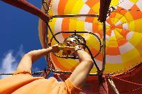 熱気球係留体験付き フルコースディナー&ハイジの白パン朝食 2食付きプラン (夏休み限定プラン)