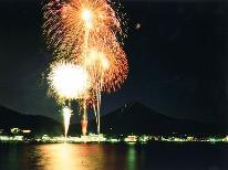 【富士山の山開き・花火大会】7月7日限定!館内から花火鑑賞出来ます♪ 1泊2食付★
