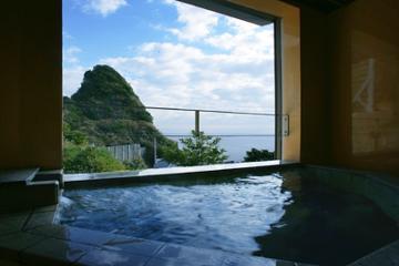 海のみえる貸切風呂プラン♪海&山の景色独占・・