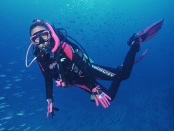 【HP限定価格】【至極の体験】海の神秘☆ふらっと気軽にダイビング体験プラン[1泊2食付]