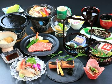 ◆グレードアップ◆牛ステーキ&あったか鍋のコラボレーション♪名湯100選【七沢温泉】で湯ったり旅~