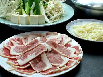 【1泊2食】ほっこり美味しい♪独特の風味の出汁が魅力的カモ鍋コース(*´ェ`*)