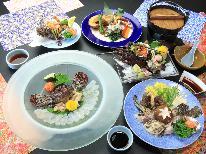 【日帰りプラン★4組限定!!】食通をもうならせる!!大将一押しの高級魚オコゼフルコース☆彡