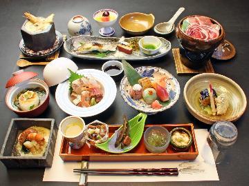 ■特選■厳選食材を味わう特別会席【C】記念日・祝いの席にオススメ!贅沢おとな旅♪