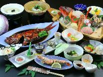 ★人気NO.1!迷ったらコレ★金目鯛丸煮&舟盛り!海の幸食べ尽くしオススメコース♪