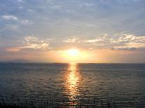 【朝食付き】朝の絶景を堪能☆漁師の朝ごはんで活力を♪
