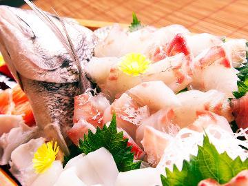 ◆≪グレードアップ≫はまゆうの豪快海鮮お造り♪贅沢海の幸プラン☆2食付