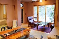 【櫻】庭園和室10畳+和室8畳+広縁4畳+檜露天風呂