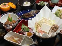 【夕食のみ】癒しの御岳山の自然とオトクな会席料理を味わう♪