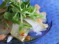 【シェフのIPPIN】旬の厳選食材~8月は旬の鱸(すずき)を涼やかカルパッチョで♪