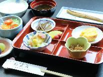 【朝食のみ】恋のパワースポットの羽豆神社に近い宿の優しい味わいの朝食を☆