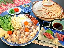 【秋・冬季限定】紀州名物★コラーゲンたっぷり「幻の魚」クエ鍋プラン