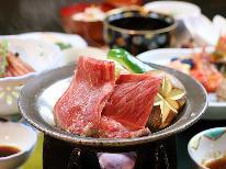 【当日限定】 いわて牛の陶板焼きと地元食材を使った旬の懐石料理