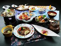【冬の膳】~華~ やわらかいわて牛ステーキと冬の味覚を楽しむ♪朝夕共ゆっくり部屋食