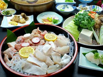 【天然本クエフルコース】幻の魚を味わい尽くす!冬の人気NO1★DX豪華会席