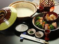 。+☆戸隠の冬味覚☆+。新提案!とろ~りとろとろ♪久山館特製『そばフォンデュ』を召し上がれ■1泊2食