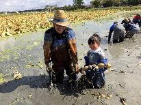 旬のレンコン掘り体験&お土産付◎実りの秋を楽しむ!~日本海美食旅~1泊2食付