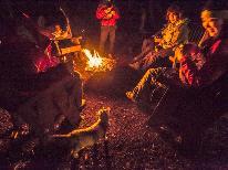 【オススメ♪】フォレストステイ&夜は焚き火で焼きマシュマロplan♪
