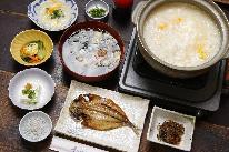 【直予約価格】★常連さんに聞きました!イチオシ!大好評!海鮮出汁の雑炊がたまらん♪★こだわりの朝食付きプラン