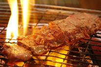 伊豆高原桜まつり会場まで車で約15分!【直予約価格】★やっぱりお肉も食べた―ィ!炭火で焼いたお肉がこんなにおいしいなんて。★牛ステーキ付