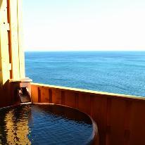 ●5か所の無料貸切露天風呂で海を見ながらのんびりしたいLOVE²カップルさんへ♪