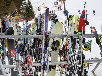 【11月19日~12月20日】初滑り『1泊2食』【訳あり】今年こそ…雪!熊の湯スキー場アクセス抜群