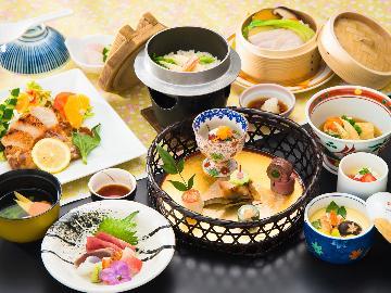 ≪季節懐石料理コース≫彩り鮮やか!旬なお料理を楽しむ♪