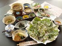 【春の山菜】品数グレードアップ!季節のお料理を満喫♪