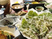 【5/21・28限定】1,000円OFF!品数グレードUPの春の山菜季節のお料理を満喫♪[1泊2食付]