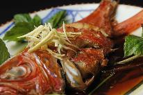 ★下田ブランド!《金目鯛の煮付け》濃厚な旨みを甘辛いタレで召し上がれ♪(4名様~)