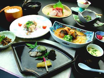 【スタンダード】割烹旅館「一竹」の味の伝統が光る◆花会席◆迷ったらこれ♪