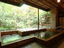 【1泊2食付】ラジウム温泉だからこそできる!心と身体の療養の為に♪<ラジウムホルミシス>特典付きプラン