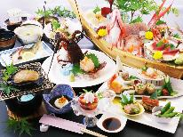 ◇3周年記念感謝祭◇華の舞-hana-伊勢えび・あわび・舟盛付 が最大5名様で10,800円引