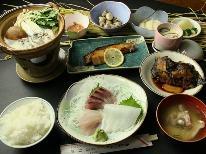 <HP特別価格>【スタンダード】佐渡産の海鮮料理と自家製コシヒカリ♪佐渡産食材を堪能。1泊2食付