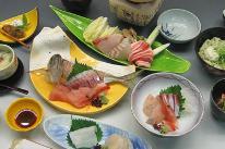 【 会席料理・お刺身・鯛しゃぶ・蛸しゃぶ・鰤しゃぶ 】の中からお好きなお料理が自由に選べるプラン