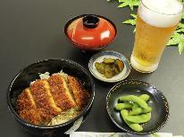 特典あり!【ご当地グルメ( *´艸`)】軽食(特製ソースかつ丼)お気軽1泊2食プラン♪