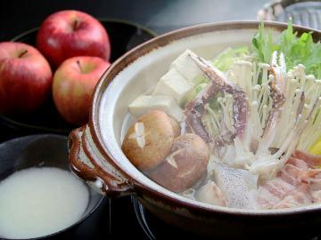 。☆おまかせあったか料理☆。冬はホットなおまかせ料理を召し上がれ♪【1泊2食付】