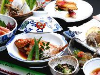 【蟹シーズン到来!焼き蟹&茹で蟹付】浜坂で旬の食材を存分に味わう季節の旬会席プラン♪