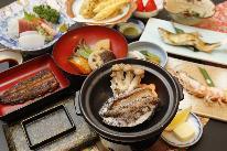 【美食三昧】2種鍋チョイス×鮑踊り焼き欲張りプラン[1泊2食付]