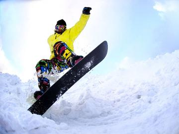 ≪スキープラン≫一日リフト券×2日分の特典付・温泉とボリュームたっぷりの夕食を楽しむ【1泊2食付】