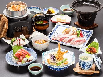【9月~11月限定-旬彩shunsai-】ホテル君佳特選!マンガリッツァ豚と秋の食材の懐石♪